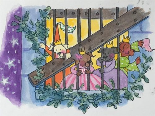 12 Dancing Princesses - Prisoners