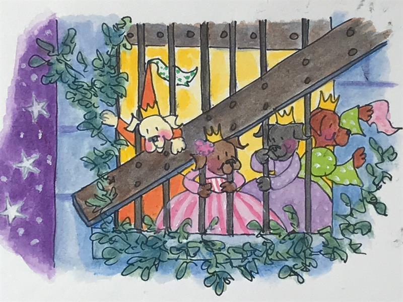 12 Dancing Princesses - Prisoners