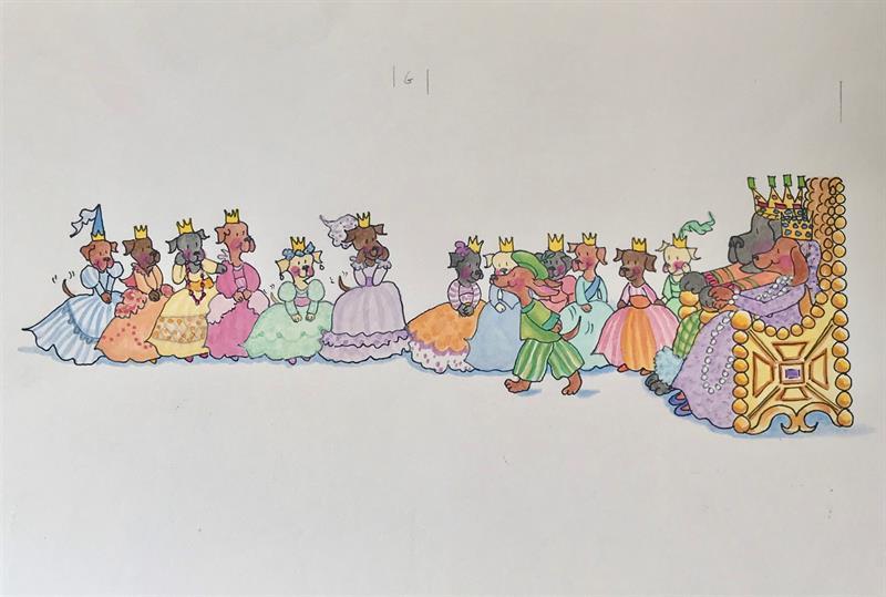 12 Dancing Princesses - Choosing a Princess