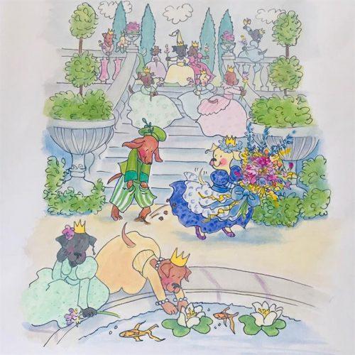 12 Dancing Princesses - the Reflecting Pool