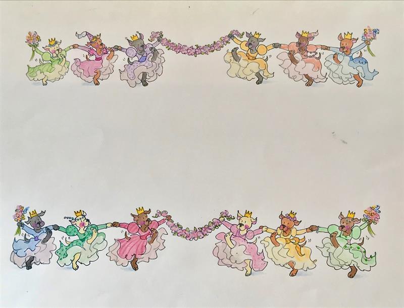 The 12 Dancing Princesses - Kick Line