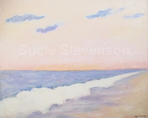 Painting of Dawn on Nauset Beach